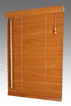 Dřevěné žaluzie lamela 25mm