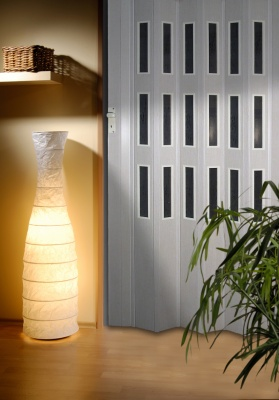 Plastové shrnovací dveře s výškou do 250cm