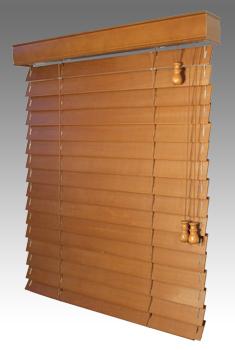 Dřevěné žaluzie - lamela 50mm