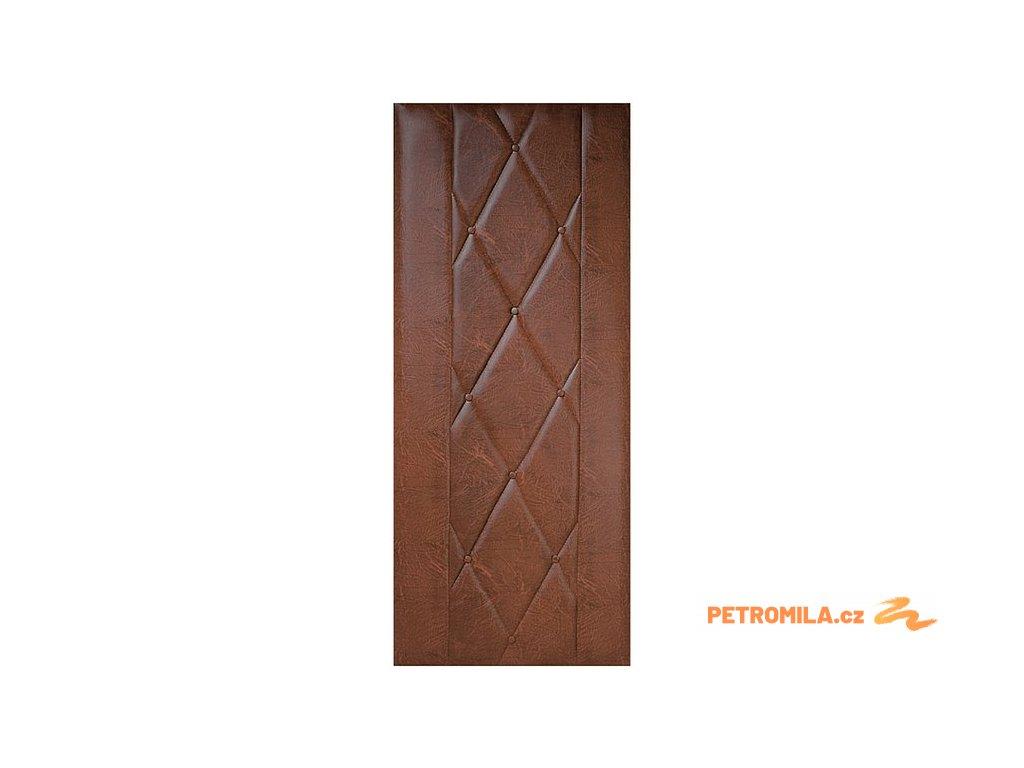 Koženkové čalounění dveří 90x200 Standard - KOŇAK