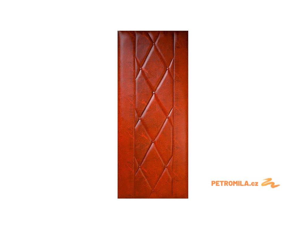 Koženkové čalounění dveří 90x200 Standard - OŘECH