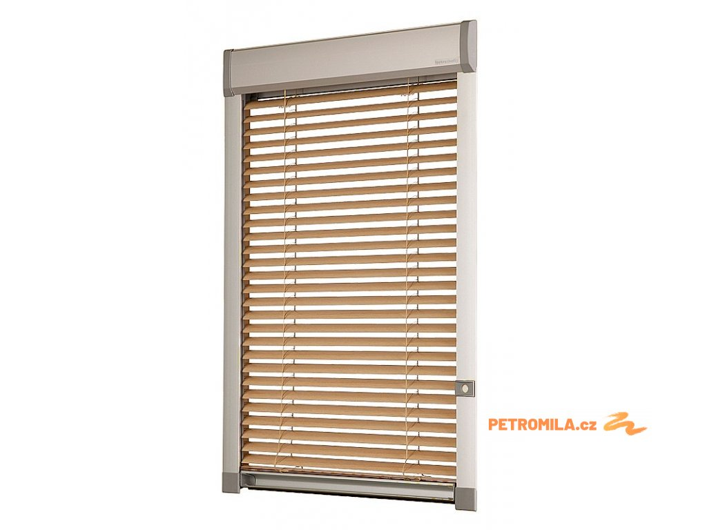 Žaluzie LITE na střešní okna Velux FK08 66x140 cm (TYP KOLEČKEM NA RÁMU VLEVO)