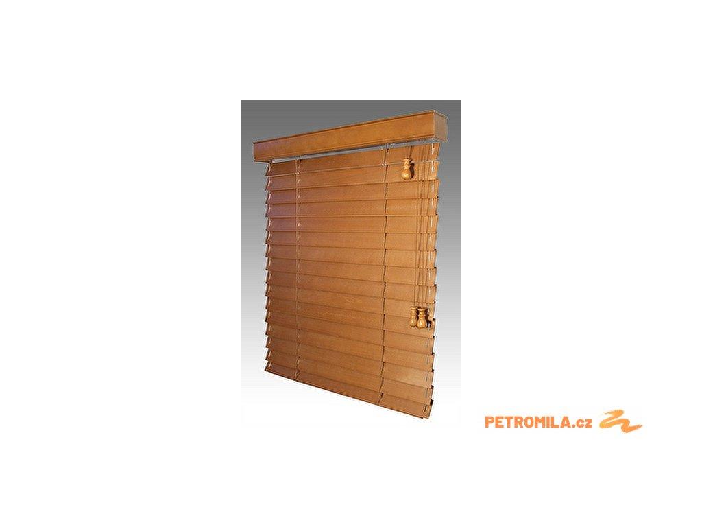 Žaluzie dřevěné KLASIK 50, šířku vyrobíme na míru mezi 1801-1900mm (VÝŠKA mezi 801-1000mm)