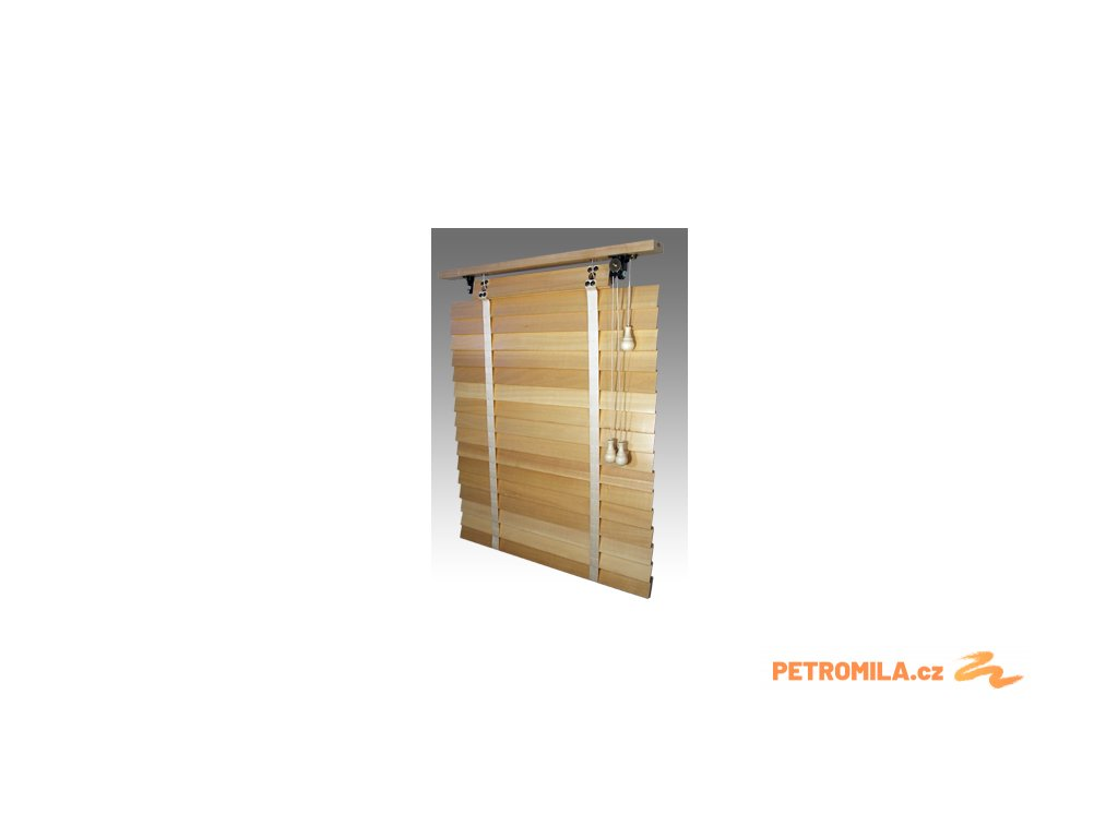 Žaluzie dřevěné, RETRO 50, šířku vyrobíme na míru mezi 801-900mm (VÝŠKA mezi 801-1000mm)