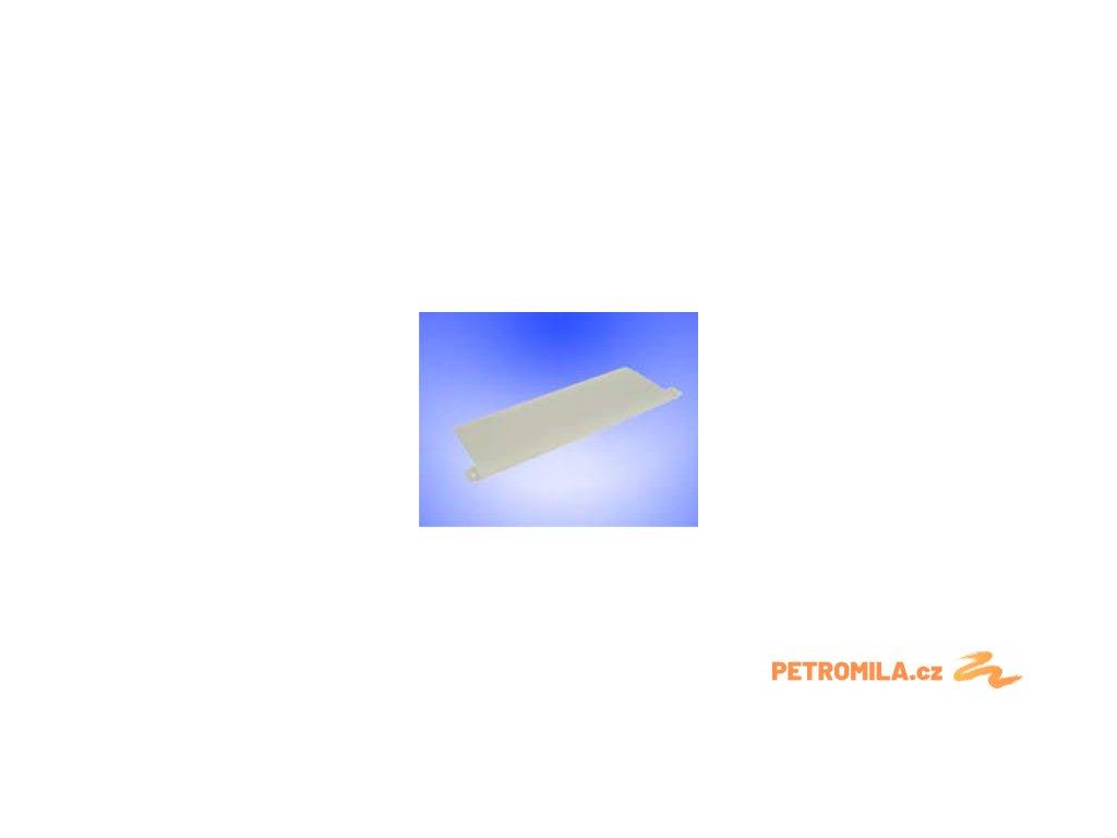 Závaží do látek vertikální žaluzie - šířka 89 mm