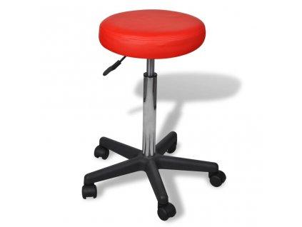 Kancelářská stolička červená