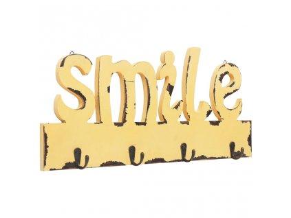 Nástěnný věšák SMILE 50 x 23 cm