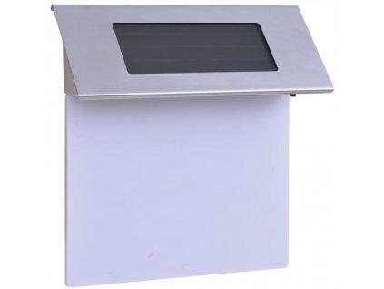 Solární LED svítidlo s číslem domu, nerezová ocel