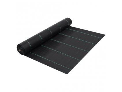 Mulčovací textilie proti plevelu a kořenům černá 2 x 10 m PP