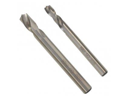 2dílný set vrtáků na bodové sváry 6/8 mm HSS