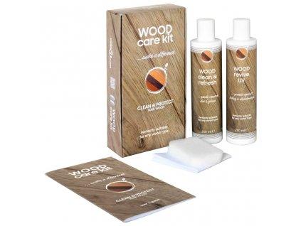 Sada přípravků na péči o dřevo CARE KIT 2 x 250 ml