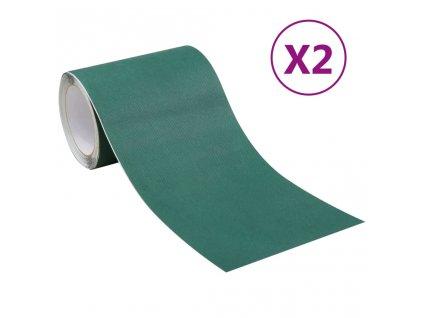 Oboustranná lepící páska na umělou trávu 2 ks 0,15x10 m zelená