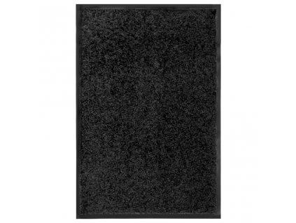 Rohožka pratelná černá 40 x 60 cm