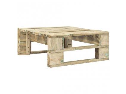Zahradní taburet z palet dřevo
