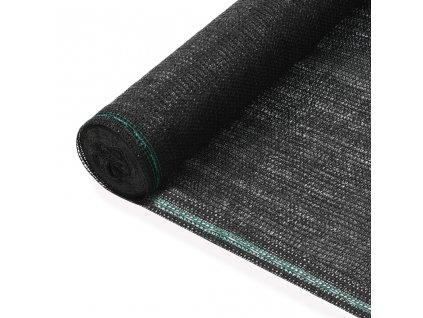 Tenisová zástěna černá 1,2 x 25 m HDPE