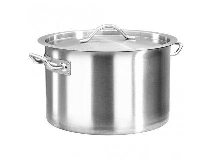 Hrnec na polévku 23 l 35 x 22 cm nerezová ocel