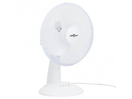 Stolní ventilátor 3 rychlosti 30 cm 40 W bílý