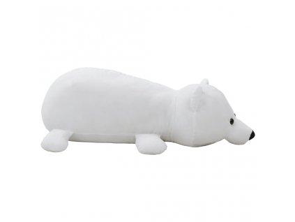 Lední medvěd plyšová hračka bílý