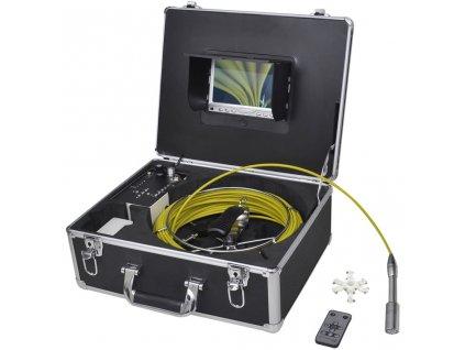 Potrubní inspekční kamera 30 m s DVR kontrolní skříňkou