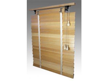 Žaluzie dřevěné, RETRO 50, šířku vyrobíme na míru mezi 501-600mm (VÝŠKA mezi 801-1000mm)