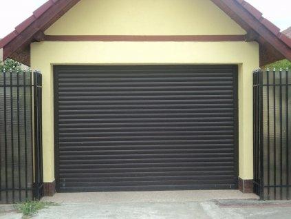 Rolovací garážová vrata LA 55, šířka na míru mezi 180-200cm - vyrobíme na míru (VÝŠKA OTVORU 180-200cm)