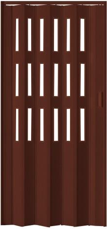 Shrnovací dveře LUCIANA COLOR line hnědá ŠÍŘKA: 73cm, PROVEDENÍ: PLNÉ