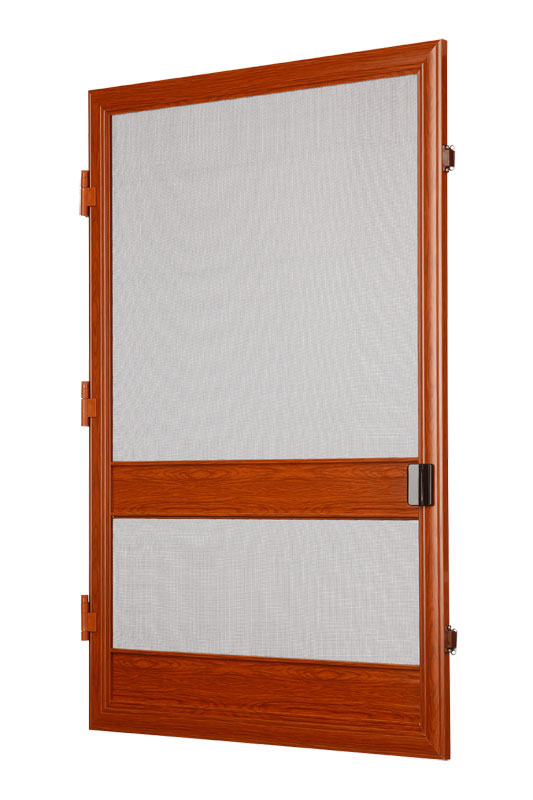 Dveřní síť proti hmyzu šířka 100cm VÝŠKA: 0-180cm, ODSTÍN: RAL 8003, PANTY: VLEVO