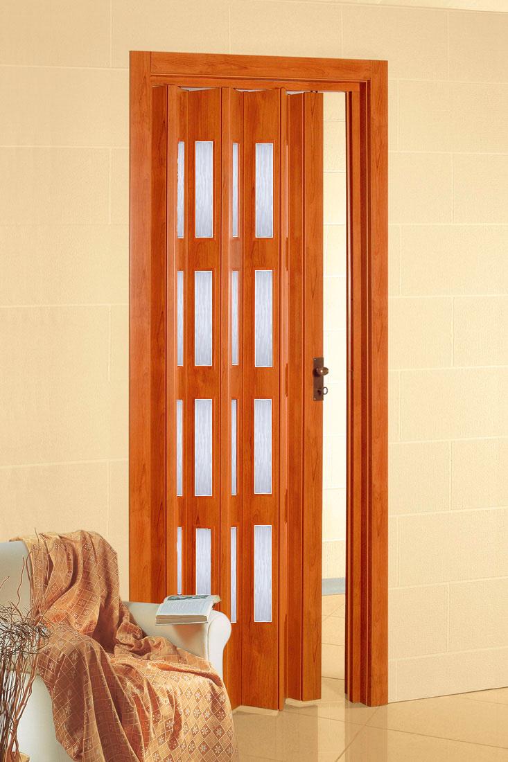 Shrnovací dveře PETROMILA odstín TŘEŠEŇ ROZMĚR: 62x200cm