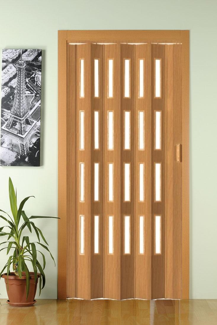 PETROMILA shrnovací dveře BUK ROZMĚR: 62x200cm