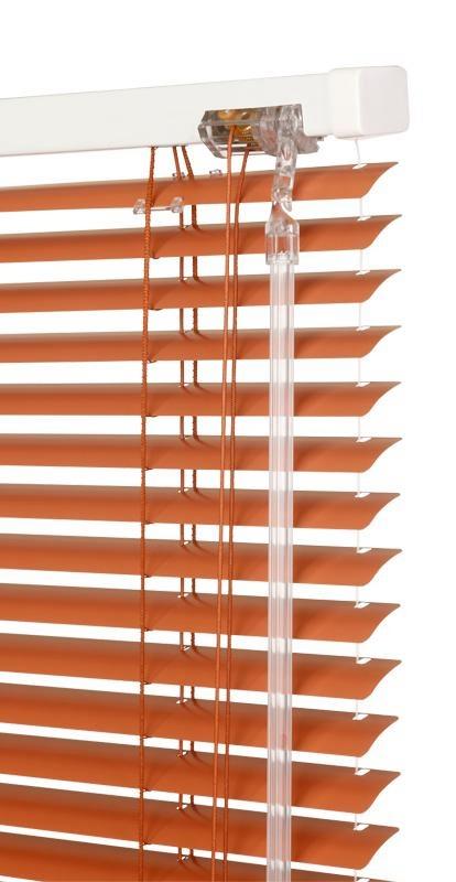 Žaluzie okenní hliníkové KLASIK šířka 130cm VÝŠKA: mezi 201-400mm, TYP: vlevo