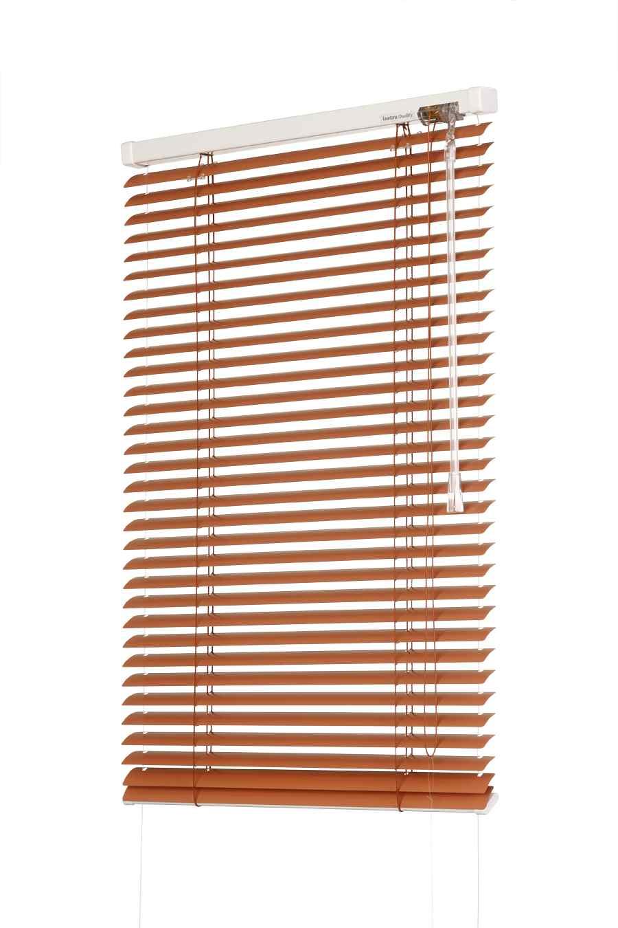 Žaluzie okenní hliníkové KLASIK šířka 130cm VÝŠKA: mezi 201-400mm, TYP: vpravo
