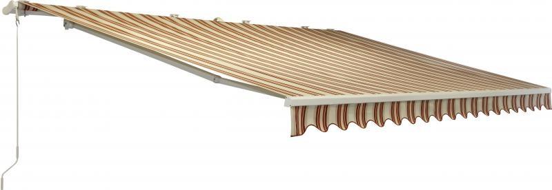 ISOTRA Výsuvná markýza STELA šířka 260cm výsuv: 150cm, POHON: klika