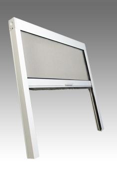 Univerzální sítě do oken rolovací do 600*2000mm VÝŠKA: 41-50cm, MONTÁŽ: OSTĚNÍ