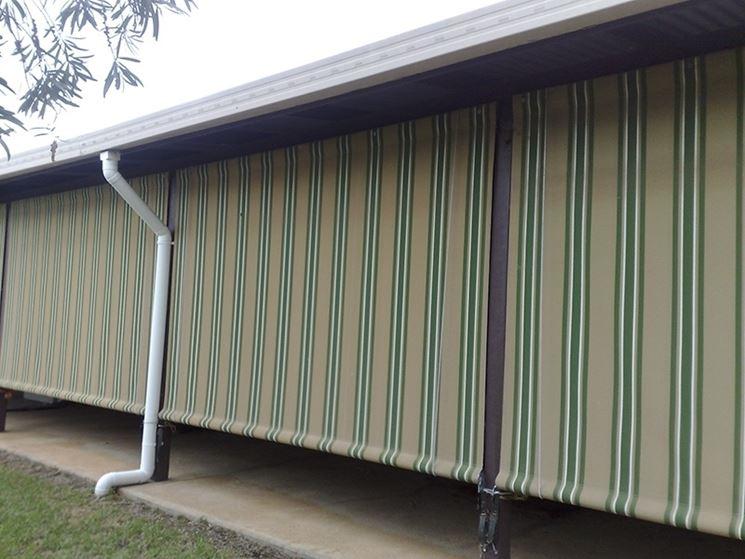 Markýza balkonová UNION-B do 5000*700mm ŠÍŘKA: 100-150cm, vyklopení v cm: roleta na pergolu, montáž: na zeď