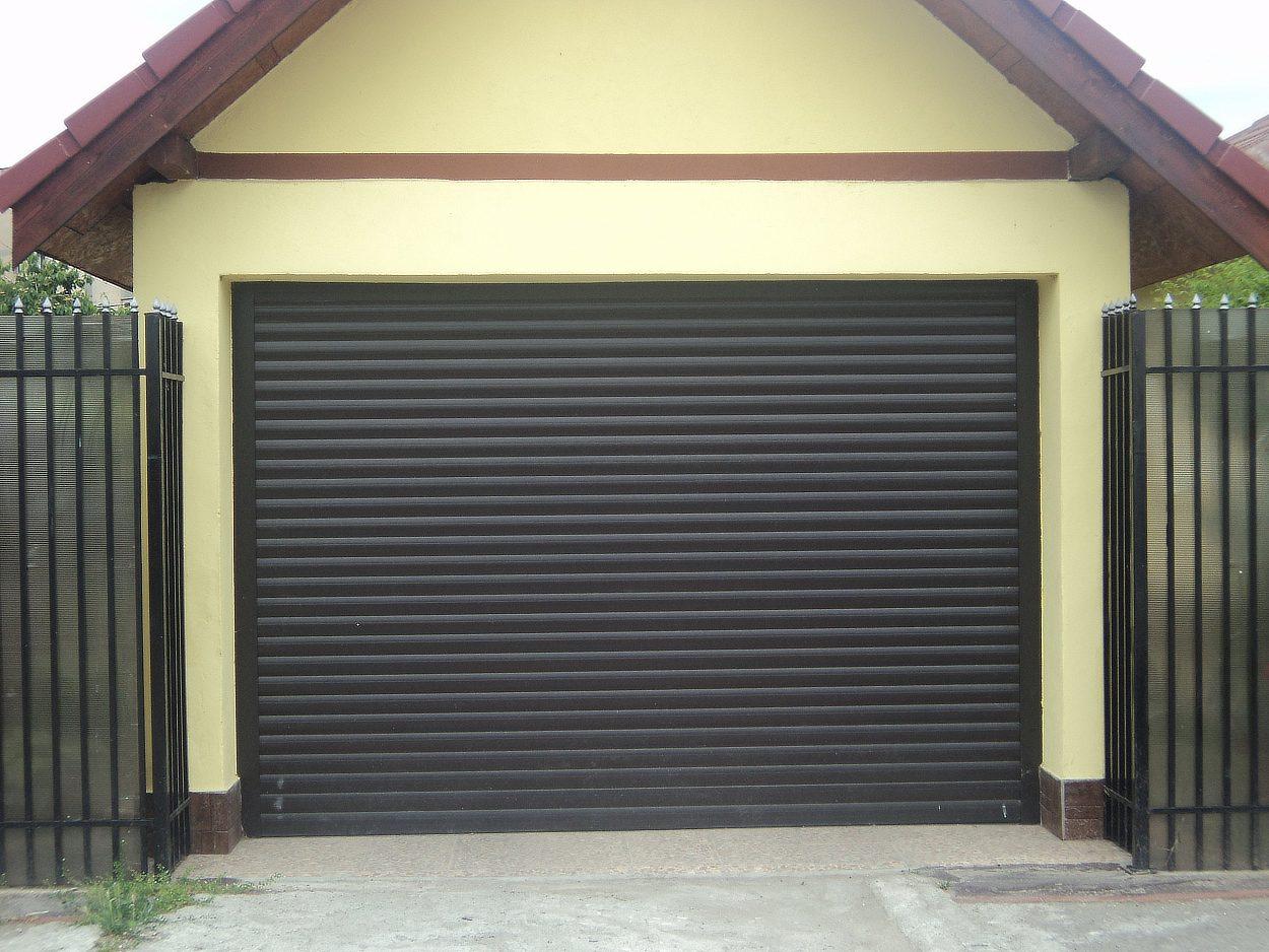 Garážová rolovací vrata LA55, 200x220cm OTVOR VÝŠKA: 180-200cm