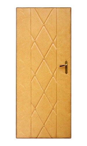 PETROMILA Čalounění dveří béžová ROZMĚR: rozměr molitanu 80x200cm, rozměr koženky 92x204