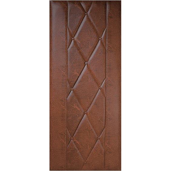 PETROMILA Čalounění dveří koňak ROZMĚR: rozměr molitanu 80x200cm, rozměr koženky 92x204cm