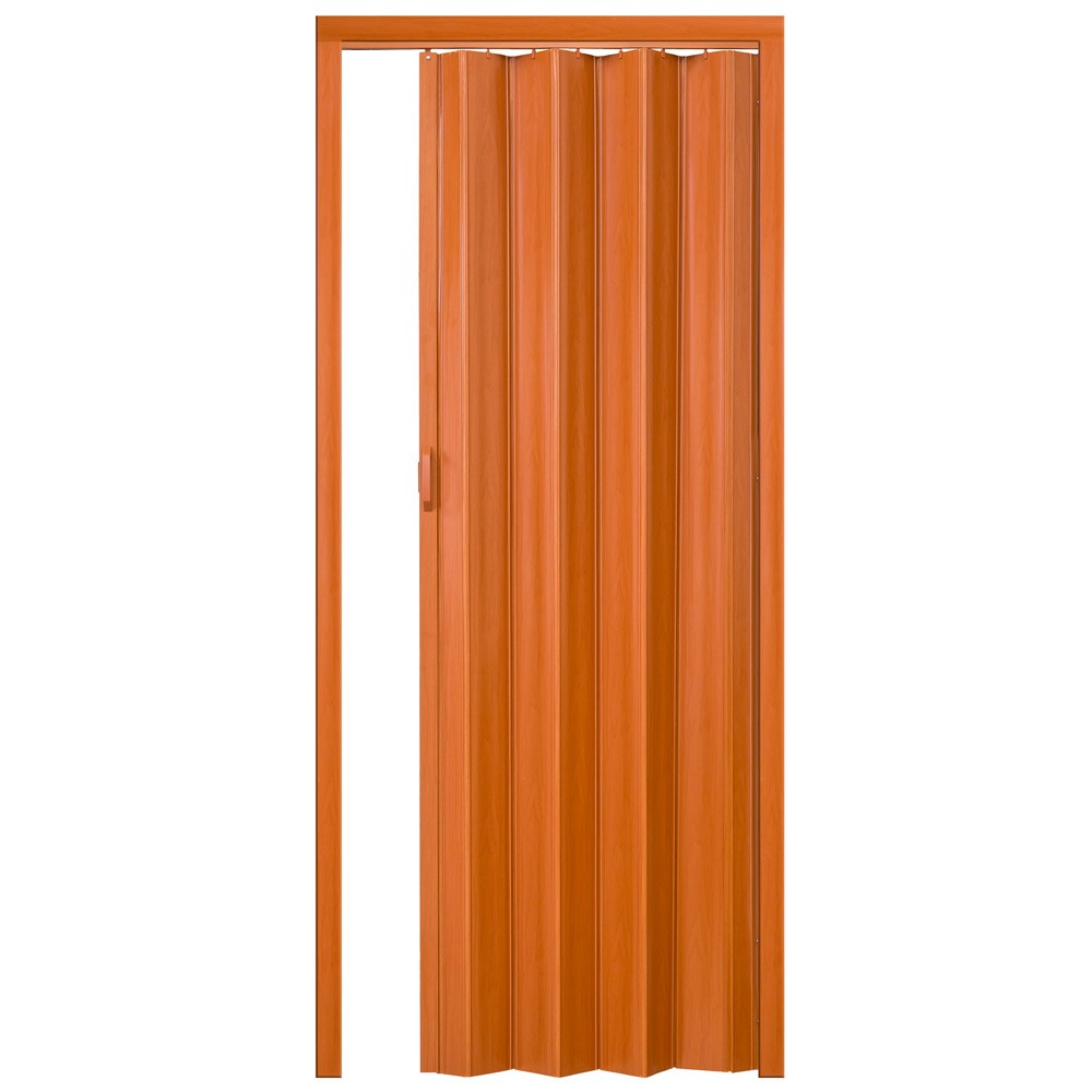 Plastové shrnovací dveře DUB 80x203cm