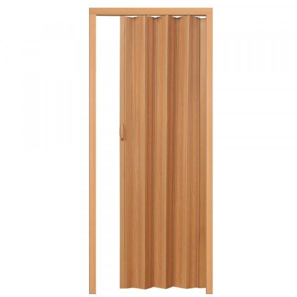 Plastové shrnovací dveře OŘECH 80x203cm