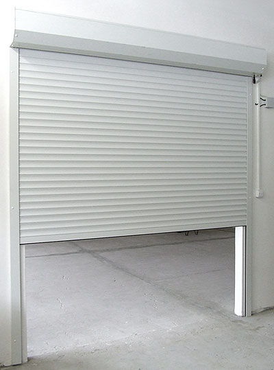 Garážová vrata rolovací LA52 šířka 220cm ovládání vrat:: spínačem motoru na zdi, výška stavebního otvoru mezi:: 181-200cm