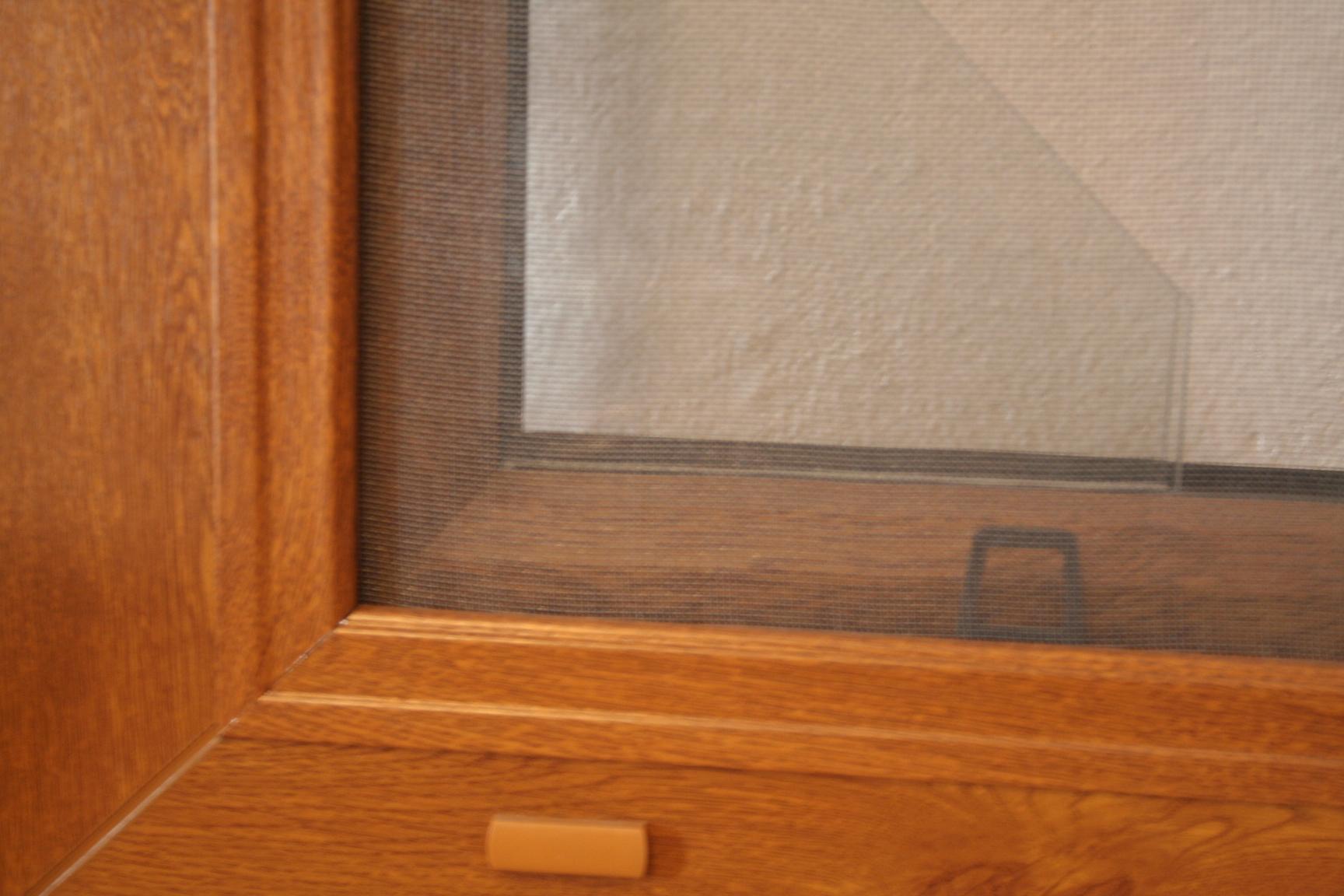 Sítě do oken proti hmyzu PETROMILA 501-600mm zlatý dub VÝŠKA: 200-300mm, ODSTÍN RÁMU: zlatý dub