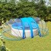 Kopule na bazén oválná 620 x 410 x 205 cm