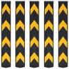 Reflexní ochranné profily na rohy 5 ks gumové 80 cm