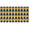 Reflexní ochranné profily na rohy 10 ks gumové 80 cm