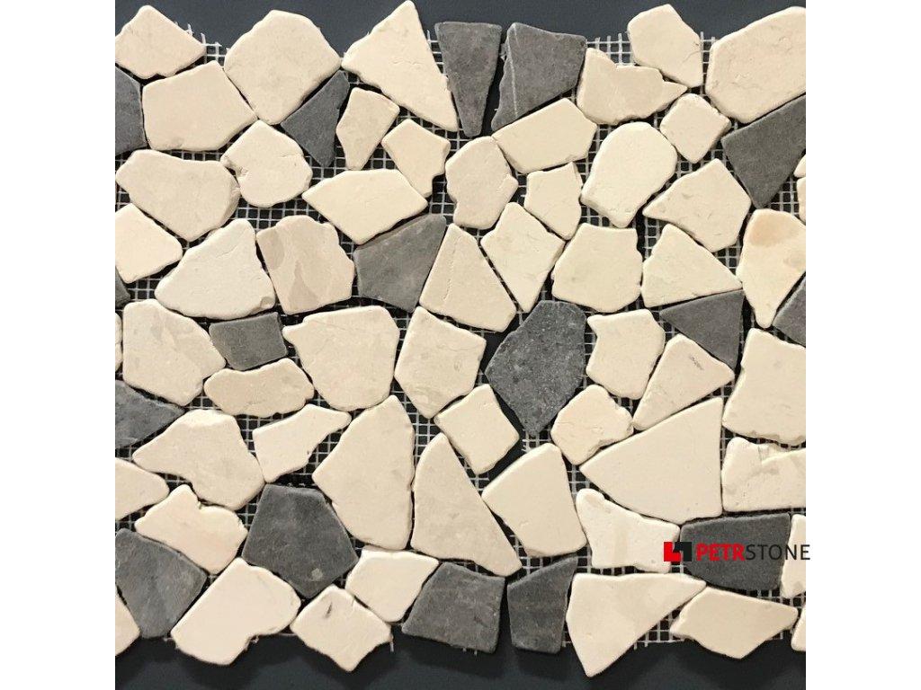 Přírodní mozaika BIANCONE JAVA 30,5 x 30,5 cm (bal.11ks)