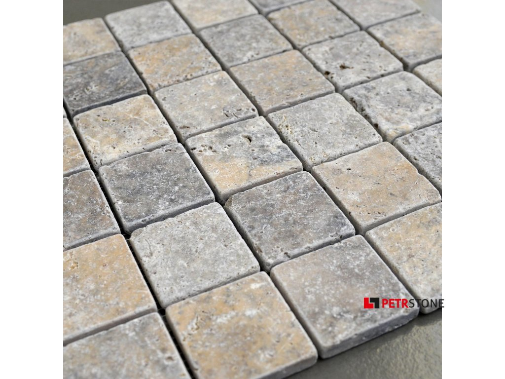 trawertyn ash mozaika 48x48 3