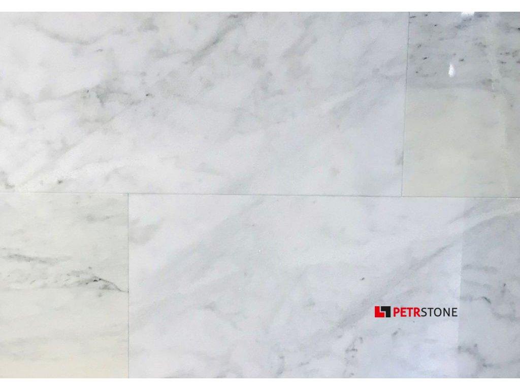 Přírodní dlažba Mramor White Oriental 30,5x61 cm