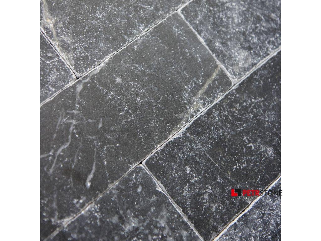 Přírodní obklad Mramor Black 20,3x7,5 cm