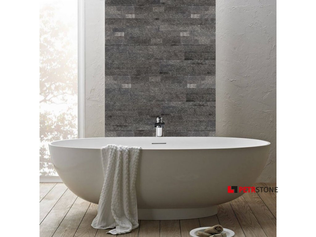 panel scienny quick stone 3d black shimmer 60x15x0 2 0 4
