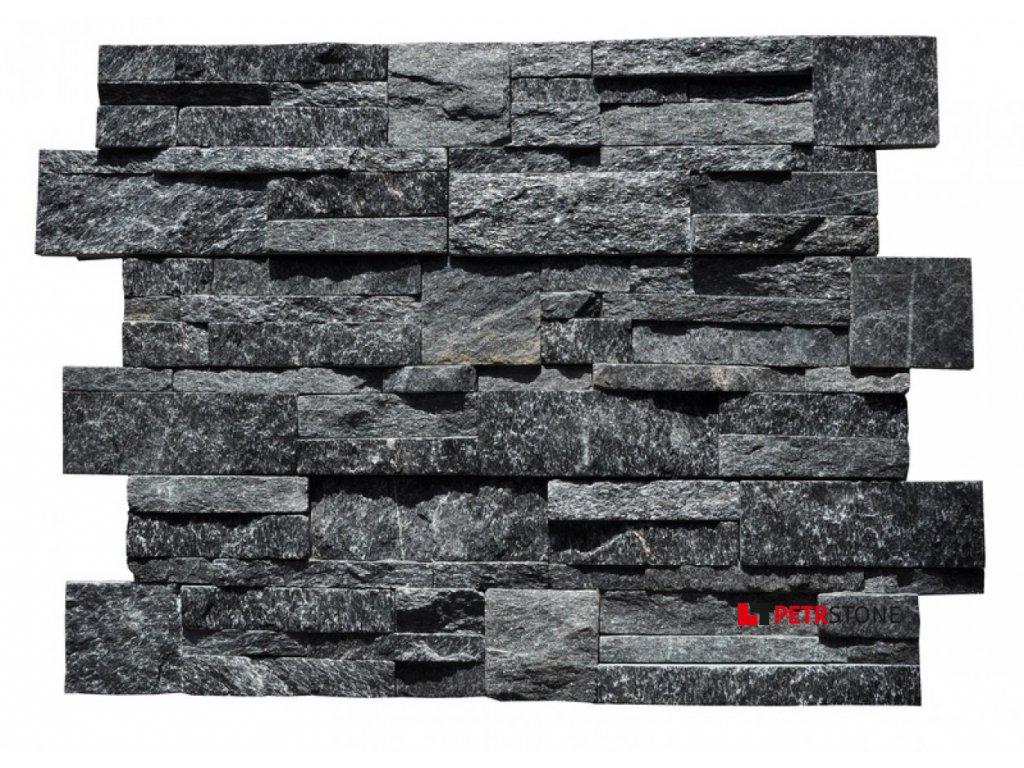 Černý kvarcit lesklý 35x18cm 1